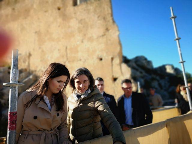 La Comunidad invierte 600.000 euros en la recuperación del castillo de Mula - 1, Foto 1