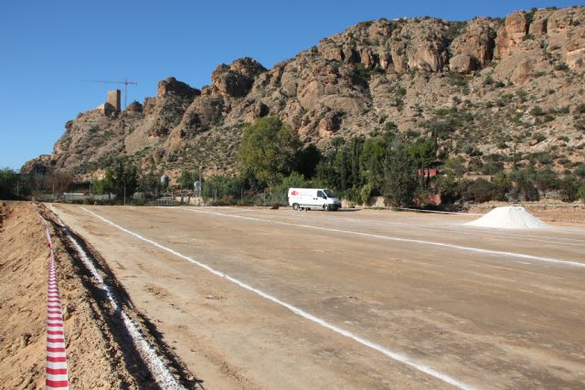 El vial del barrio de Los Dolores, acceso principal del nuevo IES Valle de Leiva, Foto 3