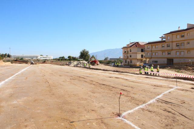 El vial del barrio de Los Dolores, acceso principal del nuevo IES Valle de Leiva, Foto 4