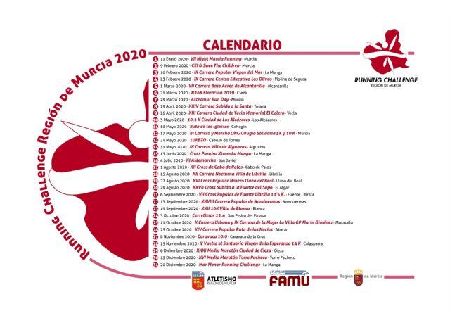 Cuenta atrás para la Running Challenge 2020 - 1, Foto 1