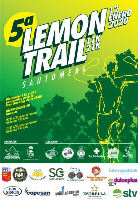 El 12 de enero, el Trail Tour FAMU 2020 arranca en Santomera - 1, Foto 1