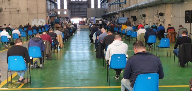 NAVANTIA acoge las pruebas para la incorporación de 31 nuevos trabajadores - 1, Foto 1