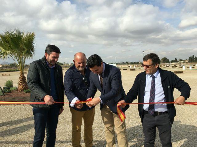 Abre en San Javier uno de las áreas de estacionamiento de autocaravanas más grandes de Europa - 1, Foto 1