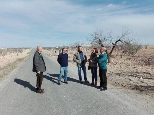 Ciudadanos denuncia que el Gobierno regional ha incumplido durante dos años el compromiso para arreglar la carretera de Fuente Librilla y exige el acondicionamiento urgente de esta vía - 1, Foto 1