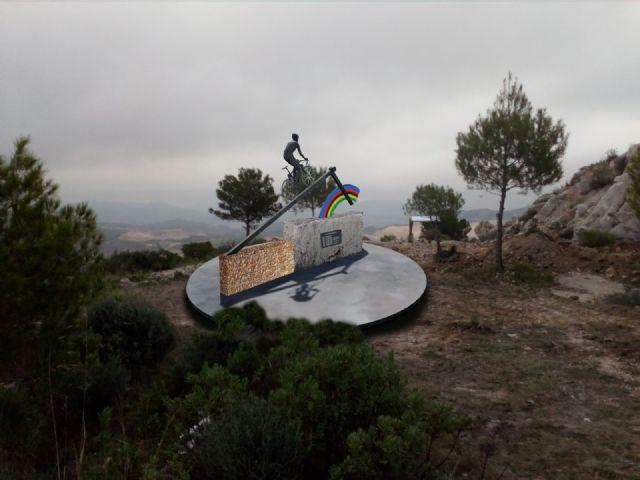 El ciclista Alejandro Valverde tendrá un monumento en su honor en pleno corazón de la Sierra de la Pila - 1, Foto 1