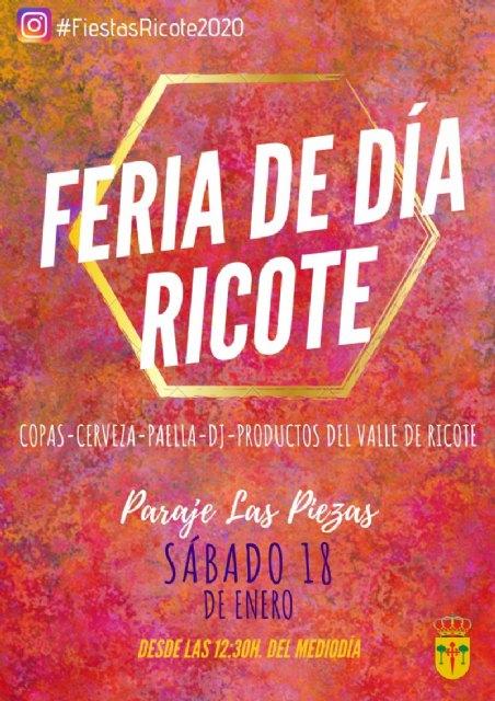 I Feria de Día en Ricote – 18 ene. – Paraje de las Piezas - 1, Foto 1