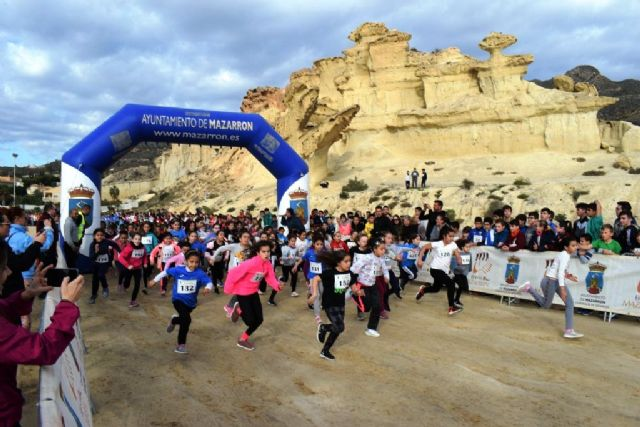 635 niños y jóvenes participan en la jornada de cross de deporte escolar, Foto 1