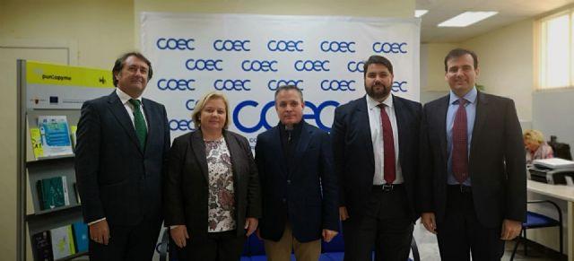 COEC y APIRM se reunen para analizar la situación del sector en la comarca de Cartagena - 1, Foto 1