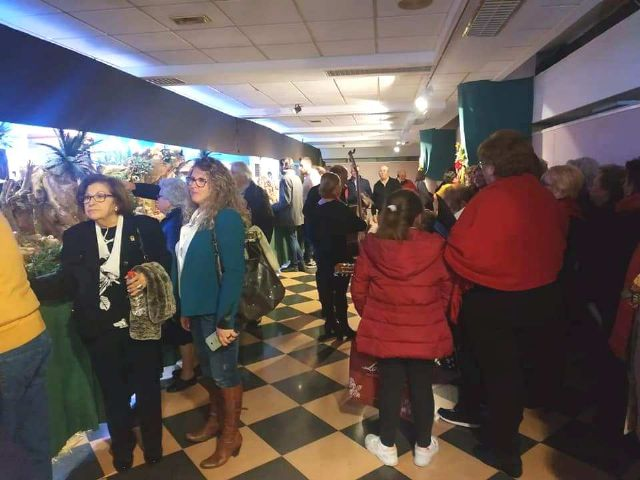 A total of 6,096 people visited the Municipal Bethlehem, made by Francisco Javier Carrillo, during the last Christmas and Reyes parties, Foto 3