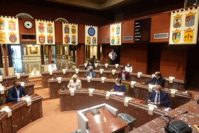 [The president of the Regional Assembly calls the Permanent Delegation on January 18, Foto 1