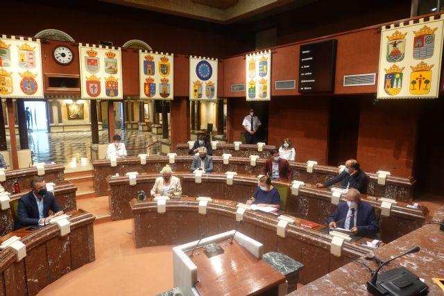 El presidente de la Asamblea Regional convoca la Diputación Permanente el día 18 de enero, Foto 1