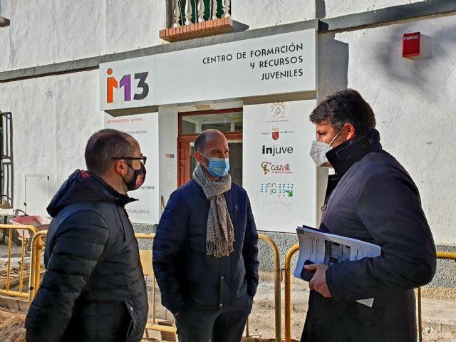 El Ayuntamiento de Lorca inicia las obras de remodelación del Centro de Recursos Juvenil M13 para convertirlo en un espacio polivalente de encuentro y formación para los jóvenes - 1, Foto 1