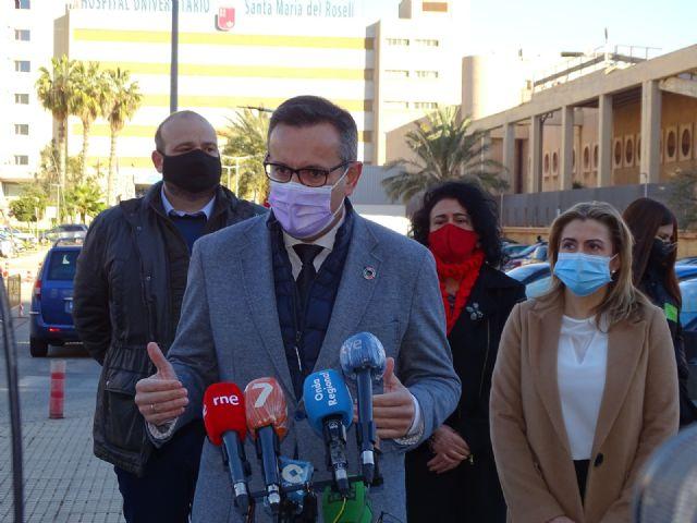 Diego Conesa exige a López Miras que cumpla las leyes y aproveche al máximo los recursos públicos para hacer frente a la pandemia, Foto 1