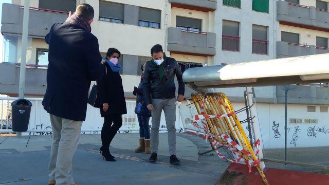 Los 680.000 euros que el alcalde del PSOE recibió para reparar la Pasarela Miguel Navarro no se han empleado en el proyecto oficial, y pide otros 400.000 - 1, Foto 1