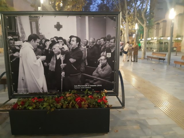 [Murcia dedicates a privileged space to T o Juan Rita in the urban photographic exhibition organized to commemorate the Meeting of the Patiño Crews, Foto 2