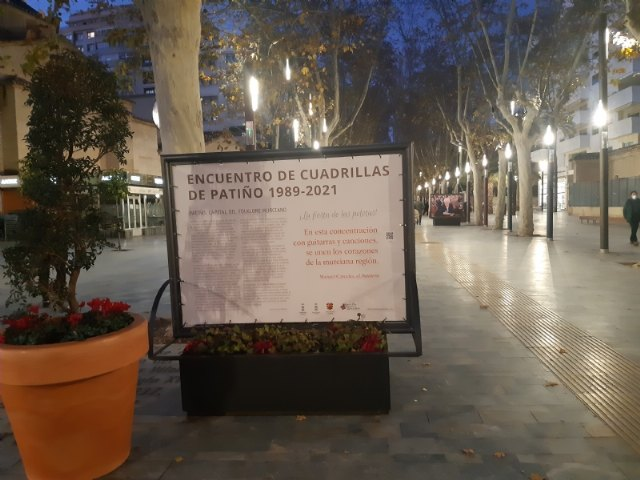 [Murcia dedicates a privileged space to T o Juan Rita in the urban photographic exhibition organized to commemorate the Meeting of the Patiño Crews, Foto 5