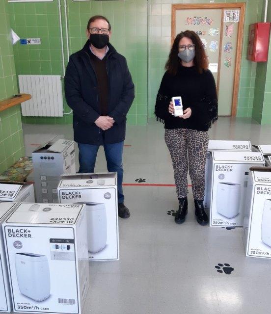 La Concejalía de Educación distribuye 199 filtros purificadores de aire para las aulas de todos los colegios - 2, Foto 2