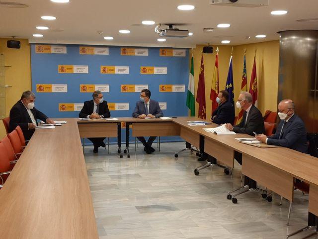El presidente de la CHS ha mantenido un reunión de trabajo con el alcalde de Murcia - 1, Foto 1