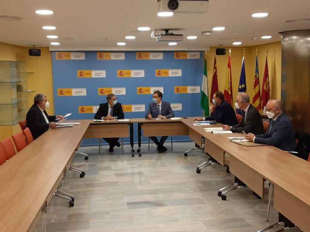 El presidente de la CHS ha mantenido un reunión de trabajo con el alcalde de Murcia - 2, Foto 2
