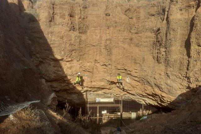 Patrimonio mejora los accesos y la seguridad de Cueva Victoria - 1, Foto 1