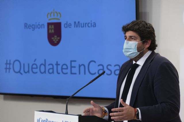 La Región de Murcia limitará las reuniones sociales entre personas no convivientes para hacer frente al aumento de casos de covid-19, Foto 1