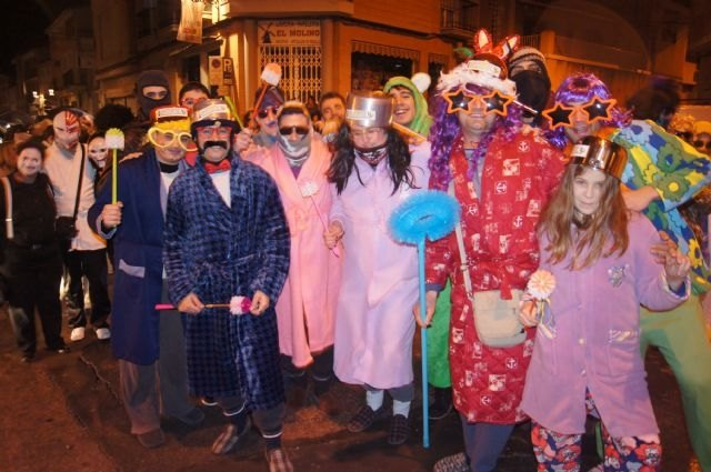The traditional Concentration of Masks is celebrated tonight with the concentration in the Plaza de la Constitución