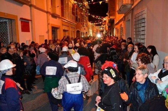 La tradicional Concentración de Máscaras se celebra esta noche con la concentración en la plaza de la Constitución, Foto 2