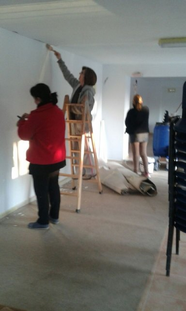 They carry out improvement and conditioning work in the Local Social of La Huerta, Foto 2