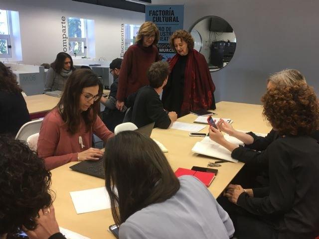 28 nuevos proyectos comienzan a gestarse en Factoría Cultural Región de Murcia gracias a las becas de la Comunidad, Foto 2
