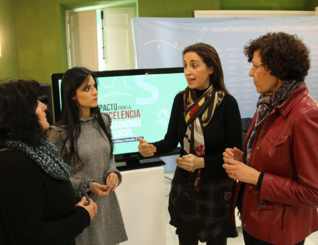 La directora general de Relaciones Laborales informa a los empresarios lumbrerenses de las medidas del Pacto para la Excelencia de la Economía Social - 1, Foto 1