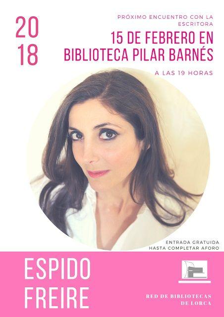 La escritora Espido Freire hablará sobre la creación literaria y su obra este jueves día 15 a partir de las 19 horas en la Biblioteca Pilar Barnés - 1, Foto 1
