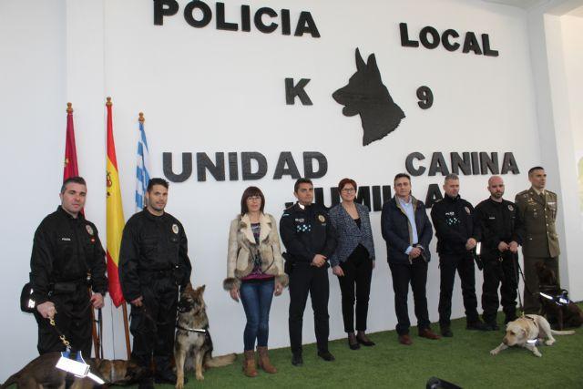 Presentada oficialmente la Unidad Canina de la Policía Local de Jumilla - 1, Foto 1