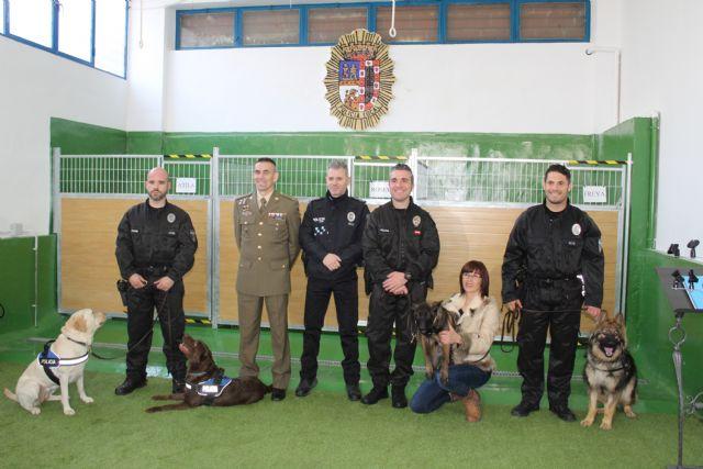 Presentada oficialmente la Unidad Canina de la Policía Local de Jumilla - 2, Foto 2