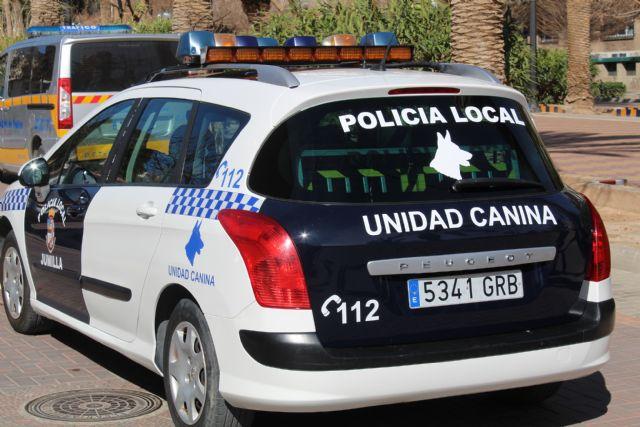 Presentada oficialmente la Unidad Canina de la Policía Local de Jumilla - 4, Foto 4