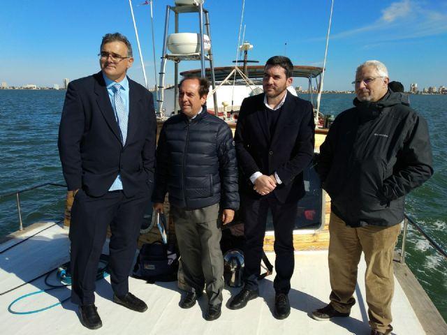 Oficiales de la OTAN comprueban el potencial de los sistemas de detección submarina de la UPCT en el Mar Menor - 2, Foto 2