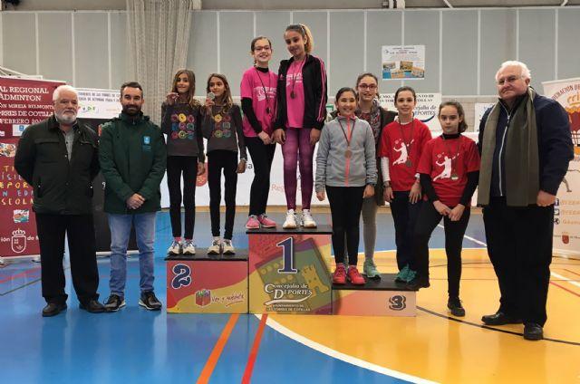Tres oros individuales y dos por equipos para los participantes torreños en la final regional de bádminton escolar - 4, Foto 4