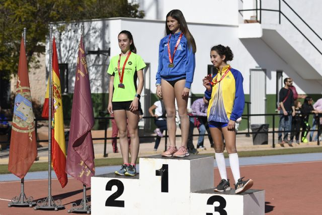 Diez medallas para el Club Atletismo Alhama en el Campeonato Regional de Categorías Menores - 4, Foto 4