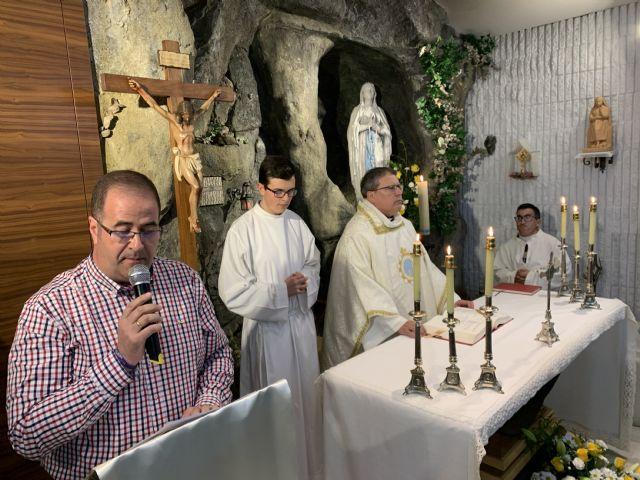La fiesta de la Virgen de Lourdes se celebra intensamente en la diócesis de Cartagena - 1, Foto 1