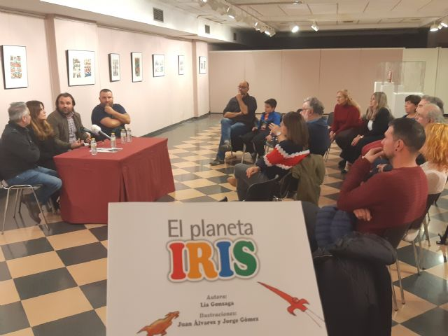 """The story """"The Planet Iris"""" by the writer Lía Gonzaga on difference and integration is presented, Foto 1"""