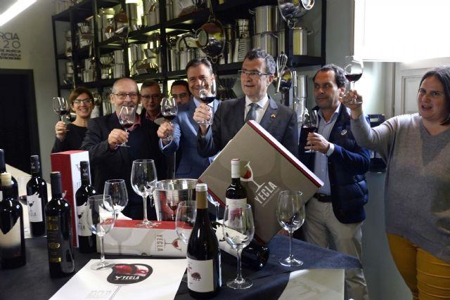 Comienzan las catas de vino gratuitas D.O.P Yecla en la sede central de Murcia Capital Gastronómica - 2, Foto 2