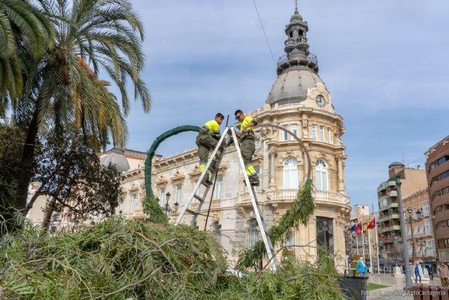 ´Photocall´ para enamorados frente al Palacio Consistorial - 1, Foto 1