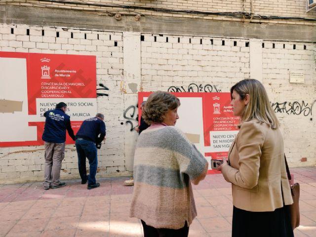 La Concejalía de Mayores impulsa el proyecto de rehabilitación del nuevo Centro Social de Mayores de San Miguel - 1, Foto 1
