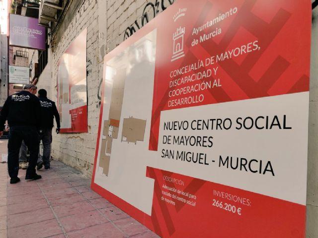La Concejalía de Mayores impulsa el proyecto de rehabilitación del nuevo Centro Social de Mayores de San Miguel - 2, Foto 2