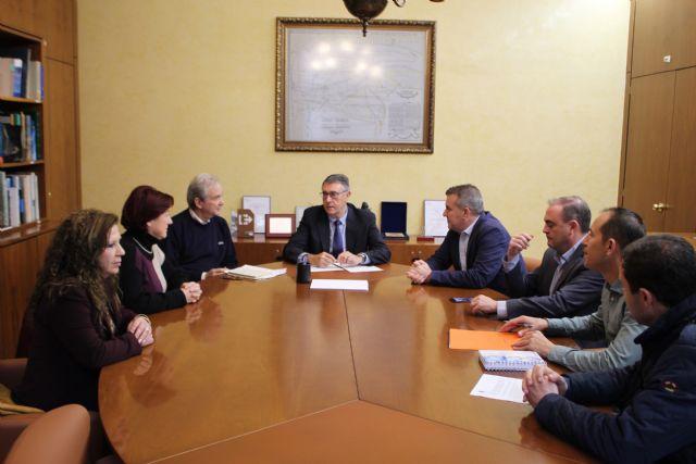 Reunión con los ayuntamientos de Molina de Segura y Alguazas para hacer un seguimiento de las obras de emergencia tras la DANA, Foto 1