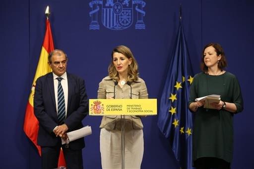 Díaz señala la economía social como un eje de acción del Ministerio de Trabajo - 1, Foto 1