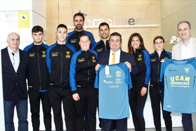 UCAM Atletismo Cartagena y Practiser vuelven a unir sus fuerzas - 1, Foto 1