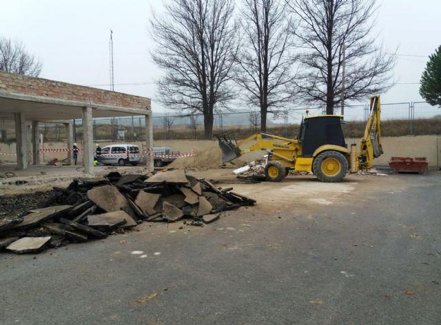 El Consorcio de Extinción de Incendios inicia la ampliación y remodelación del parque de bomberos de Cieza - 1, Foto 1