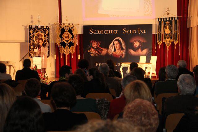 La escritora lumbrerense Isabel Navarro pregonó la Semana Santa lumbrerense - 1, Foto 1
