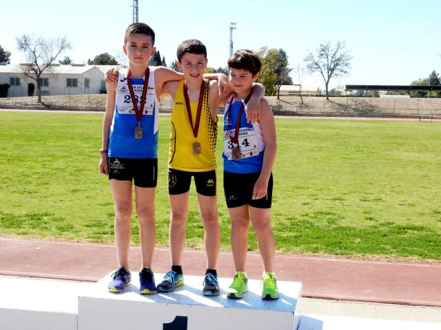 Broche de oro del Club Atletismo Alhama en las combinadas de menores, Foto 1