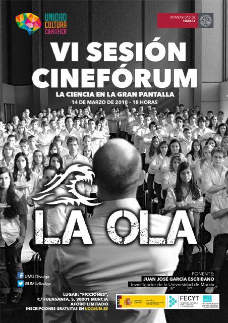 VI Cinefórum con la película 'La Ola' sobre educación y manipulación de masas - 1, Foto 1